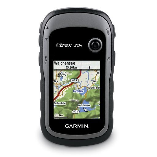 eTrex 30x GPS appareil de navigation incl. carte TopoActive de l'Europe occidentale
