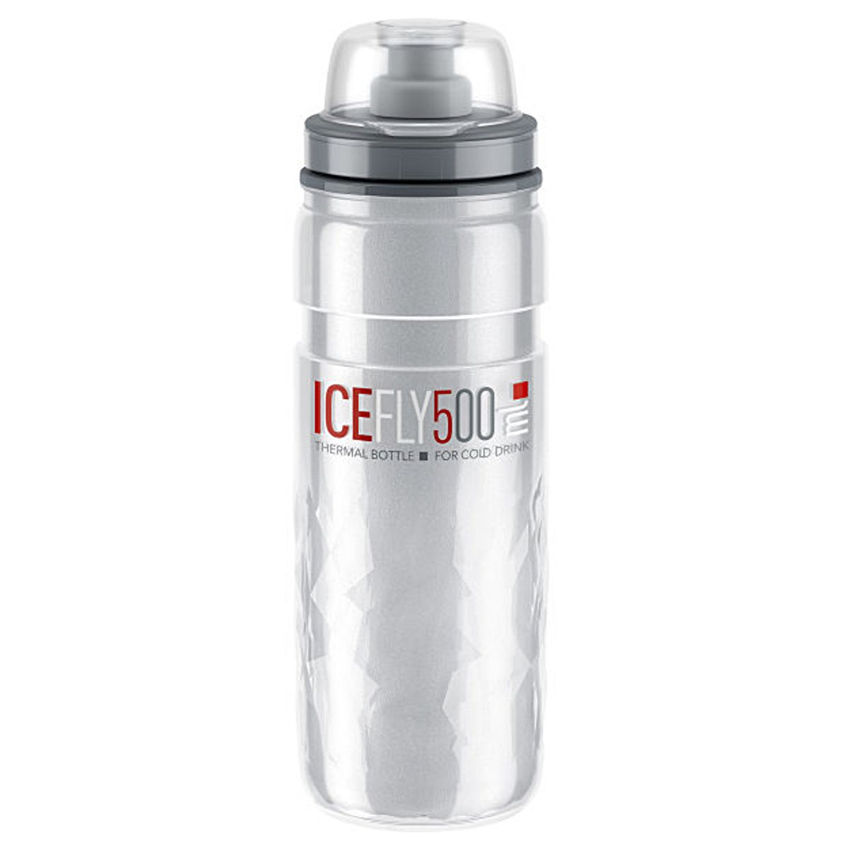 Elite Bouteille Thermoflasche Fly Ice 500 ml rouge