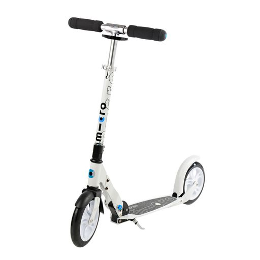 Scooter white / black trottinette pliable