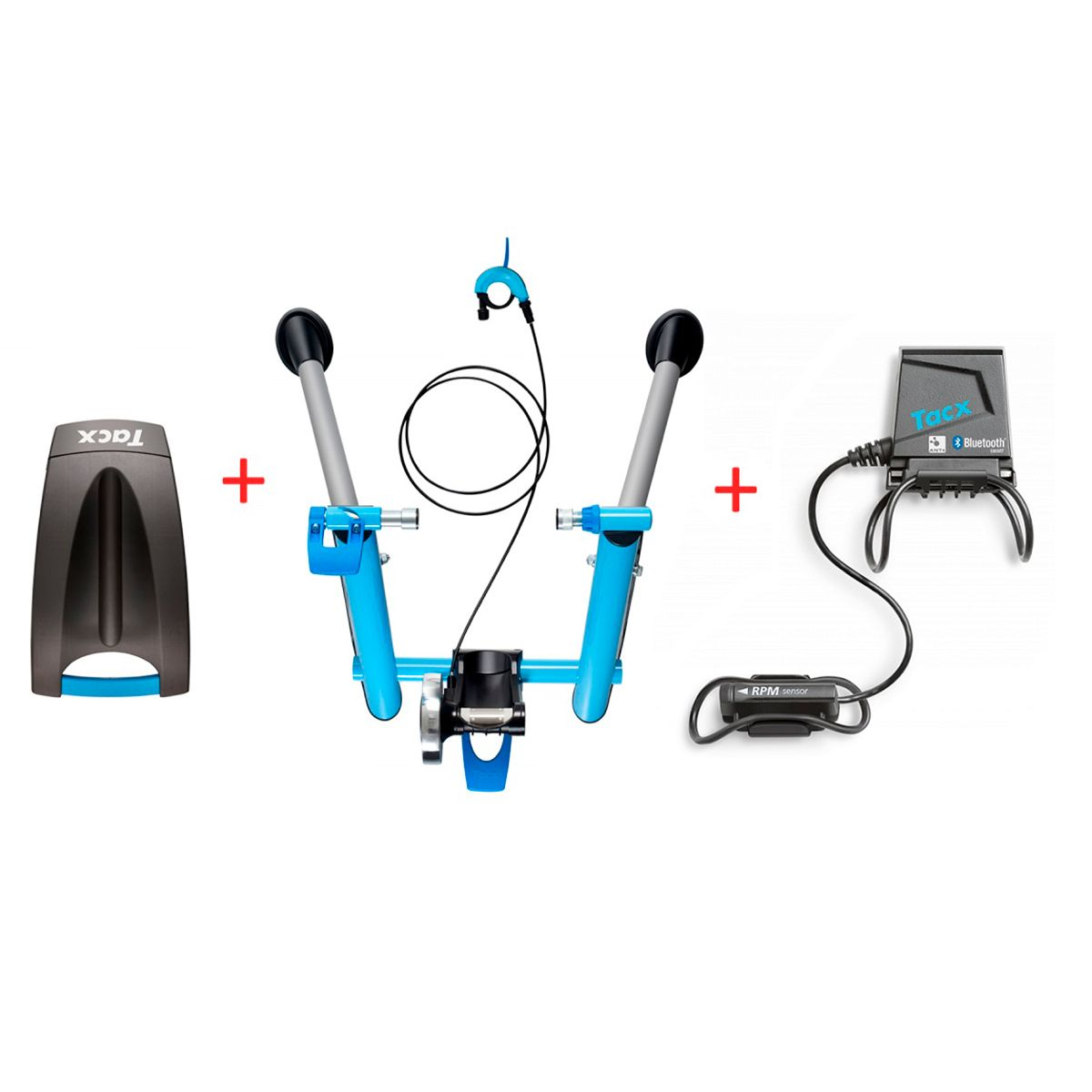 Blue Motion T2600 home-trainer Virtual Power Set