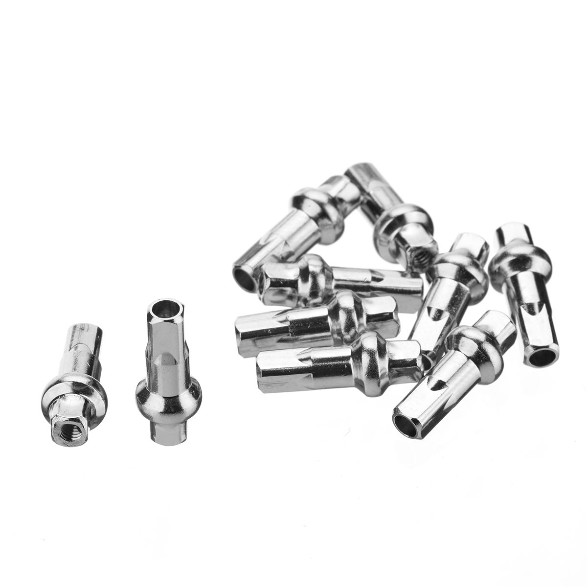 DT Swiss Rayons mamelons 2.0 Laiton Argent 12 mm 100 pièces