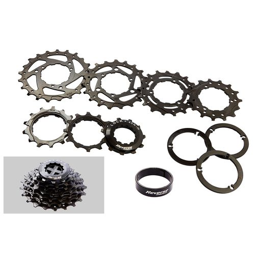 Black ONE cassette DH 7 vitesses (11-21)